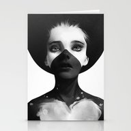 Stationery Cards featuring Hold On by Ruben Ireland