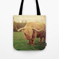 Scottish Highland Steer - regular version Tote Bag