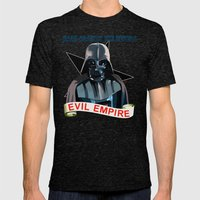 Evil Empire Mens Fitted Tee Tri-Black SMALL