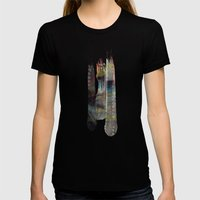 The Fall Womens Fitted Tee Black SMALL