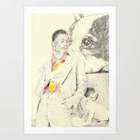 Gucci Mane With French B… Art Print