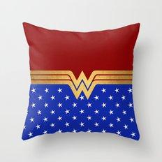 Wonder Of Women Throw Pillow