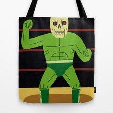 The Glowing Skull Tote Bag