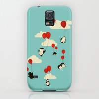 Galaxy S5 Cases featuring We Can Fly! by Jay Fleck