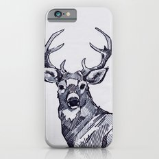Oh My Deer Black and White iPhone 6s Slim Case