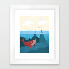 Hidden World Framed Art Print