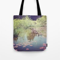 Lillypads Tote Bag