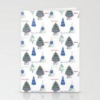 Christmas Tree Farm Stationery Cards