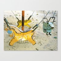 Playgrounds, Vietnam Canvas Print