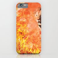 Lion Rescuing Cub From T… iPhone 6 Slim Case