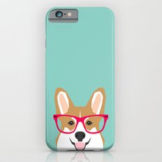 Teagan Glasses Corgi Cut… iPhone 6 Slim Case