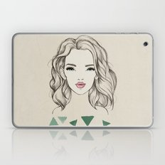 Green girl Laptop & iPad Skin
