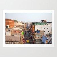 India New Delhi Pahargan… Art Print