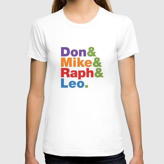 Don & Mike & Raph & Leo. T-shirt