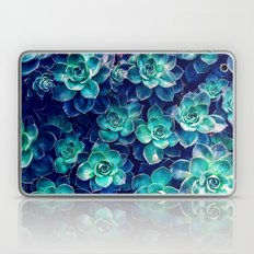 Plants Of Blue And Green Laptop & iPad Skin