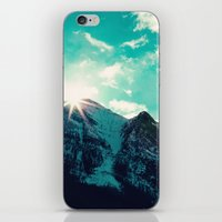 Mountain Starburst iPhone & iPod Skin