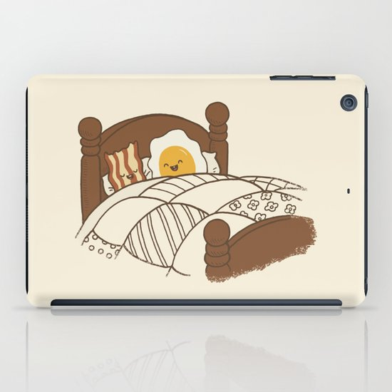 Breakfast In Bed  iPad Case