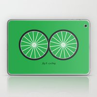 Fig.8: cycling Laptop & iPad Skin