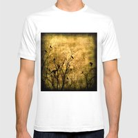 The Raven's Song Mens Fitted Tee White SMALL