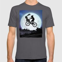 E.T Kid Mens Fitted Tee Asphalt SMALL