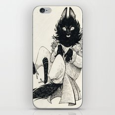 DOMESTIC WEREWOLF iPhone & iPod Skin