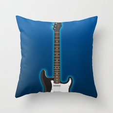 Rock my blue! Throw Pillow