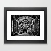 University of Toronto Knox College Cloister No 1 Framed Art Print