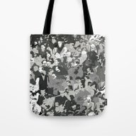 Tote Bag featuring Cluster by Tony Rodriguez