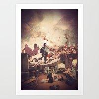 'Television' Art Print