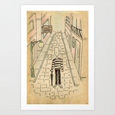 Street and art Art Print