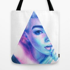Technicolor Triangle Sh*t Tote Bag