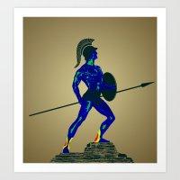 Achiles - Weakness Visio… Art Print