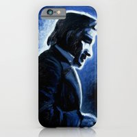 iPhone & iPod Case featuring Mr. Cash by The Being art