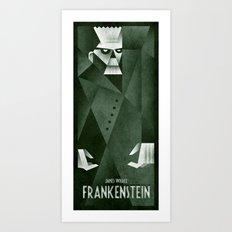 Frankenstein 1931 Art Print
