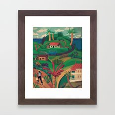 North Mahe, Seychelles Framed Art Print