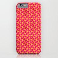 Retro floral pink iPhone 6 Slim Case