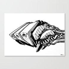 Machine object I Canvas Print
