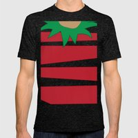 Good Elf.... Mens Fitted Tee Tri-Black SMALL