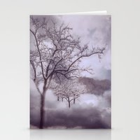 Winter Clouds Stationery Cards