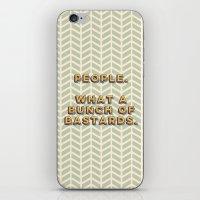 Bastards iPhone & iPod Skin
