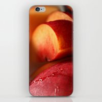 Plums For Breakfast iPhone & iPod Skin