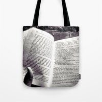 Quiet Book To MySelf Tote Bag