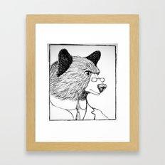 Bearing it all  Framed Art Print