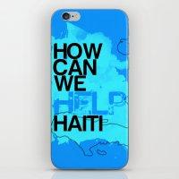 Hope for Haiti. iPhone & iPod Skin