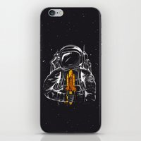 Space Popscicle iPhone & iPod Skin
