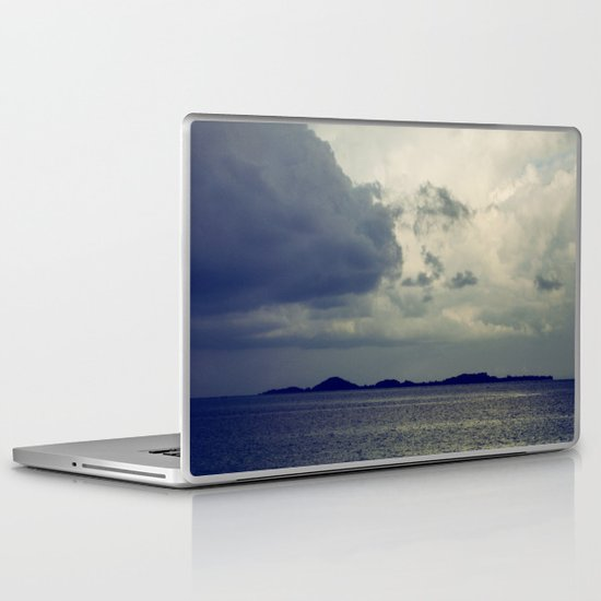 Clouds on the water... Laptop & iPad Skin