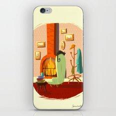 Little House Cat iPhone & iPod Skin