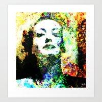 Joan Art Print