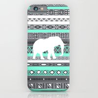 Tiffany Aztec White Elep… iPhone 6 Slim Case