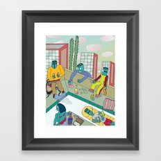 Another Day, Another Dollar Framed Art Print
